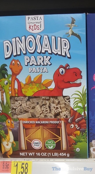 Pasta Gourmet Kids Dinosaur Park Pasta