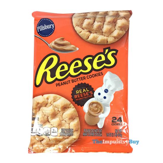 Review Pillsbury Reese S Peanut Butter Cookies The Impulsive Buy