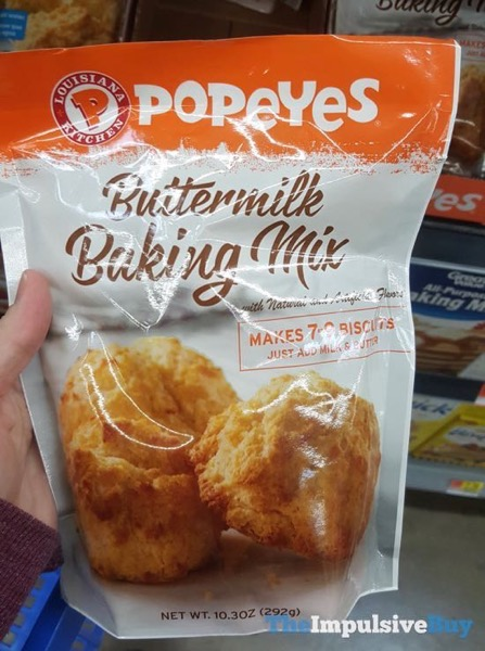 Popeyes Buttermilk Baking Mix