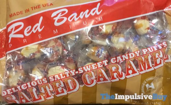 Red Band Premium Salted Caramel Candy Puffs