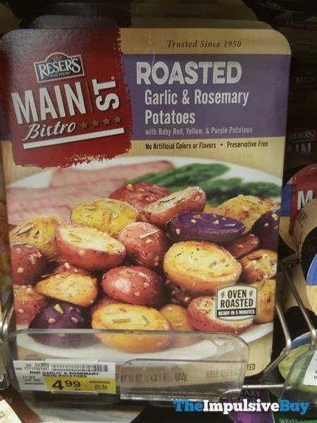 Reser s Main St Bistro Roasted Garlic  Rosemary Potatoes