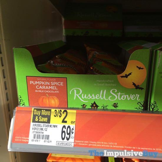 Russell Stover Pumpkin Spice Caramel Pumpkin