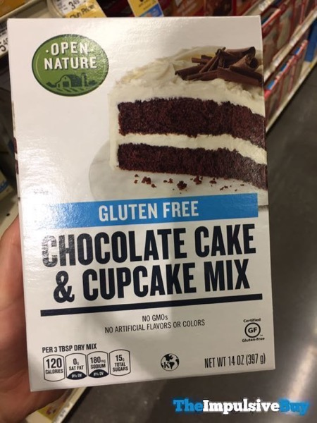 Safeway Open Nature Gluten Free Chocolate Cake  Cupcake Mix