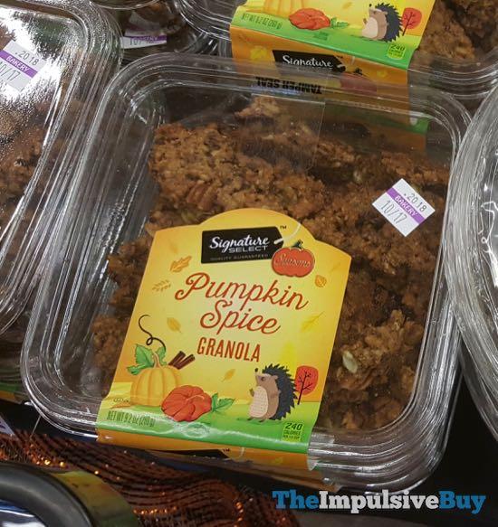 Safeway Select Pumpkin Spice Granola