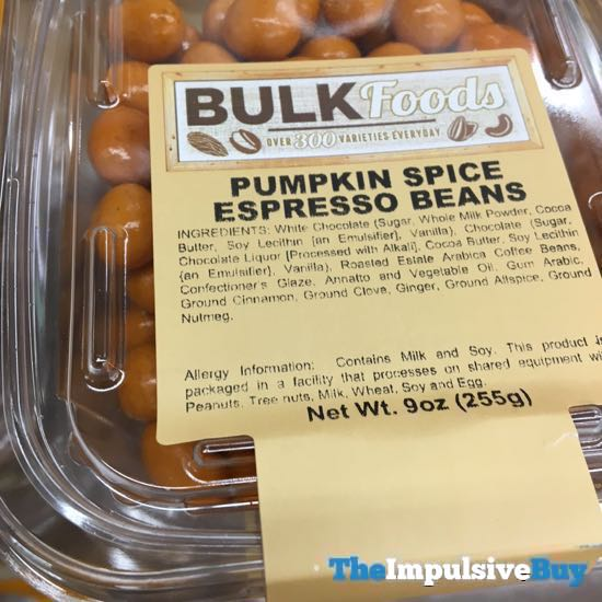 Sprouts Bulk Foods Pumpkin Spice Espresso Beans