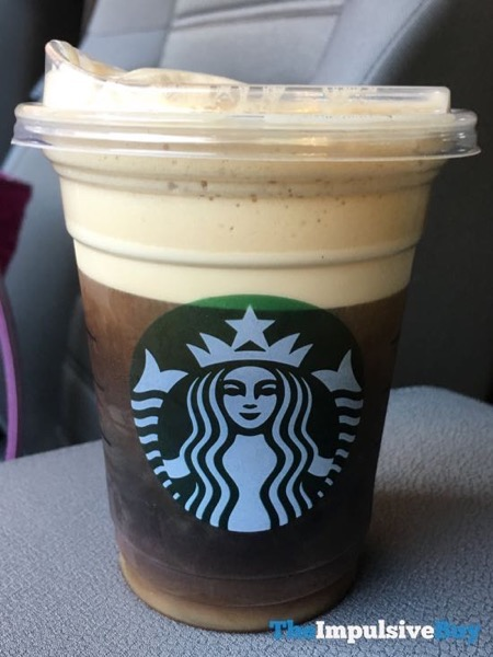Starbucks Cold Foam Dark Cocoa Nitro