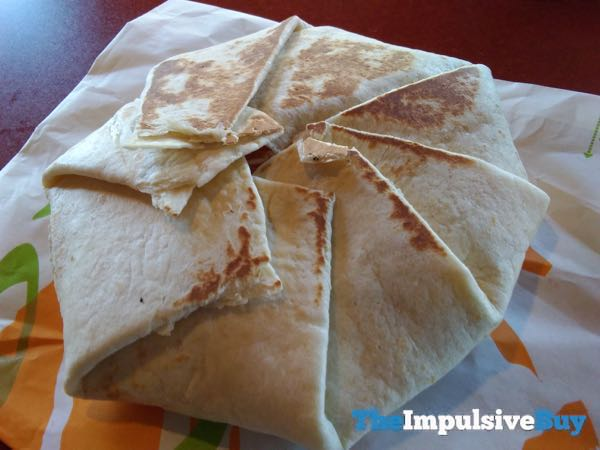 Taco Bell Chipotle Triple Double Crunchwrap