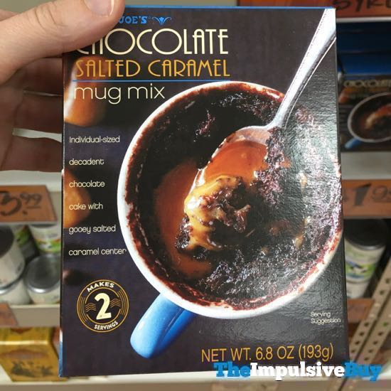 Trader Joe s Chocolate Salted Caramel Mug Mix