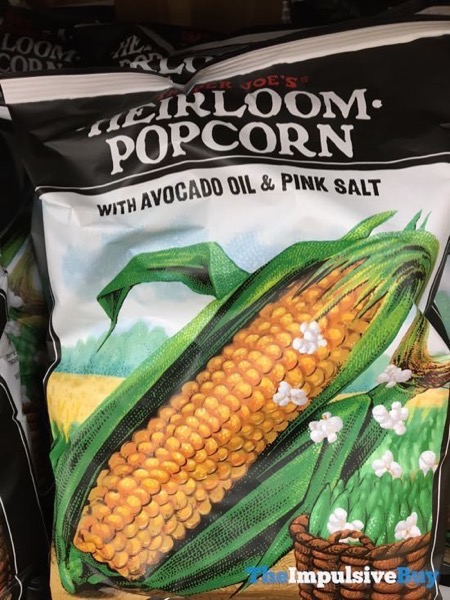Trader Joe s Heirloom Popcorn with Avocado Oil  Pink Salt