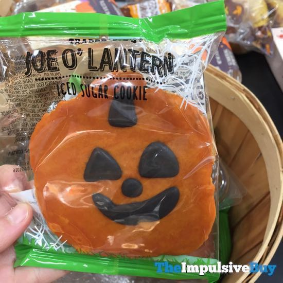 Trader Joe s Joe O Lantern Iced Sugar Cookie