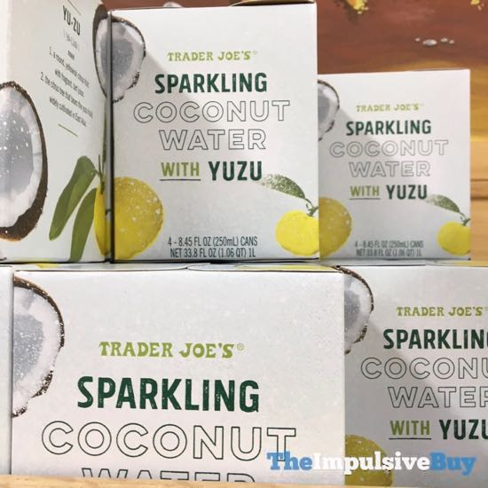 Trader Joe s Sparkling Coconut Water with Yuzu