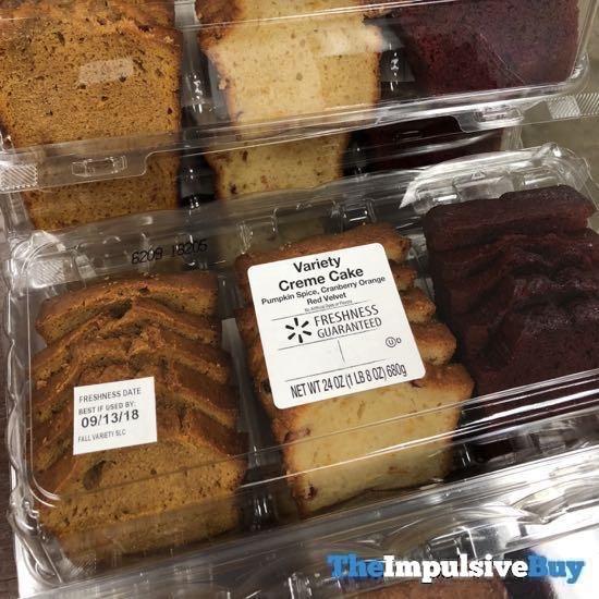 Walmart Variety Creme Cake