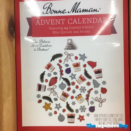 Bonne Maman Advent 2018 Calendar