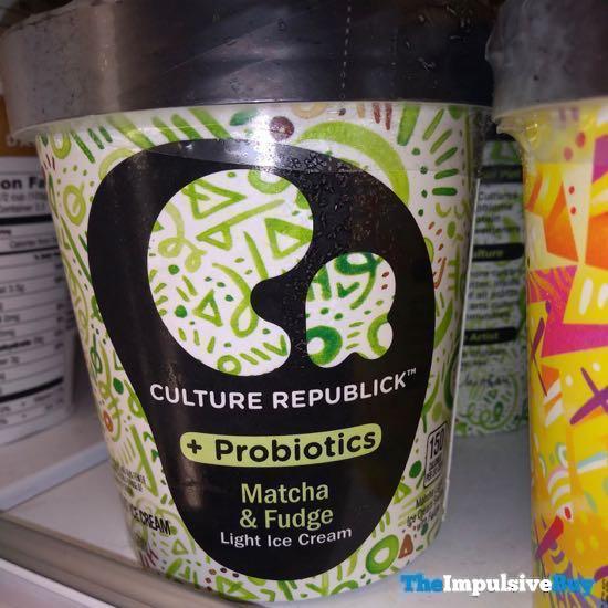 Culture Republick Light Ice Cream Matcha  Fudge