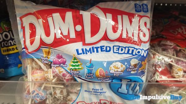 Dum Dums Limited Edition Holiday Pops 2018