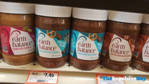Earth Balance Trail Mix Blends  Cran Seed Crunch Chocolate Pretzel Crunch and Coffee Chocolate Crunch
