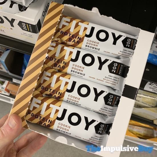 FitJoy Cookie Dough Brownie Protein Bar