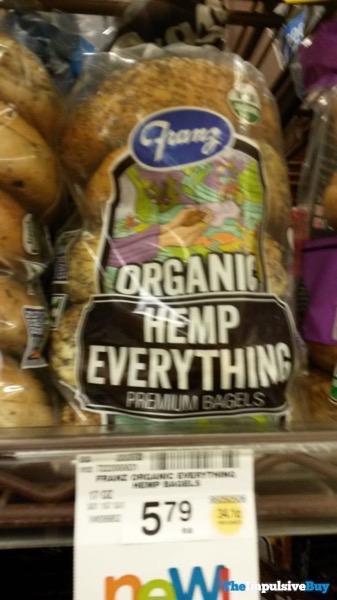 Franz Organic Hemp Everything Premium Bagels