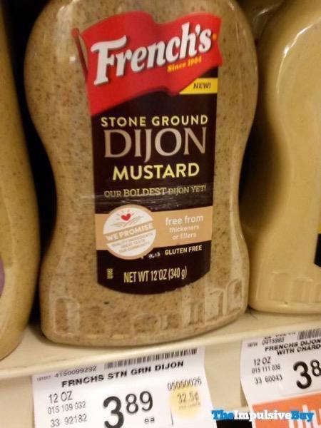 French s Stone Ground Dijon Mustard