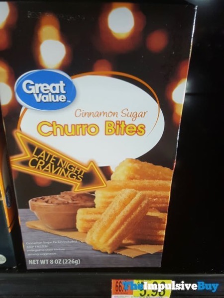 Great Value Late Night Cravings Cinnamon Sugar Churro Bites