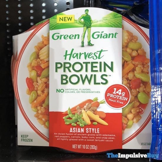 Green Giant Asian Style Harvest Protein Bowls