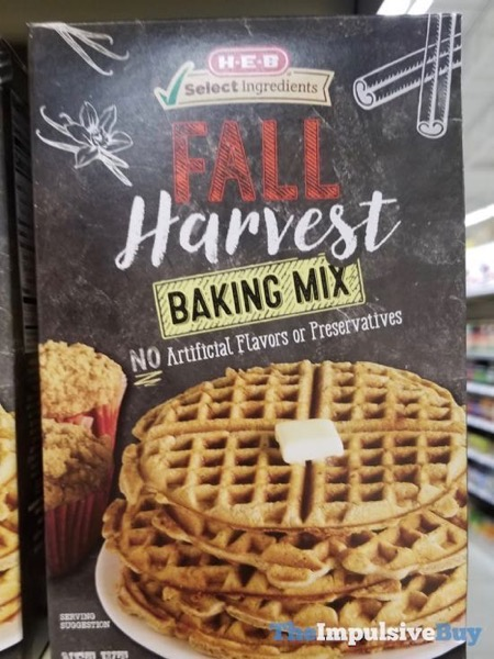 H E B Fall Harvest Baking Mix