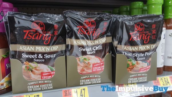 House of Tsang Asian Mix N Dip  Sweet  Sour Sweet Chili and Thai Style Peanut