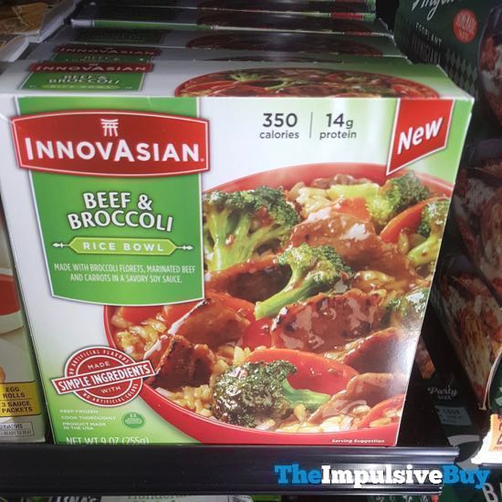 InnovAsian Beef  Broccoli Rice Bowl