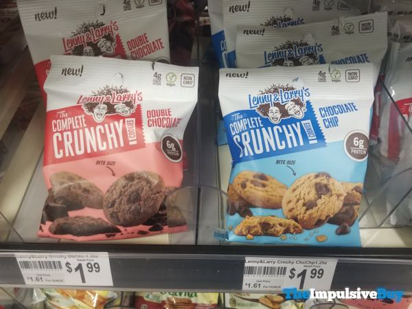 Lenny  Larry The Complete Crunchy Cookies  Double Chocolate and Chocolate Chip