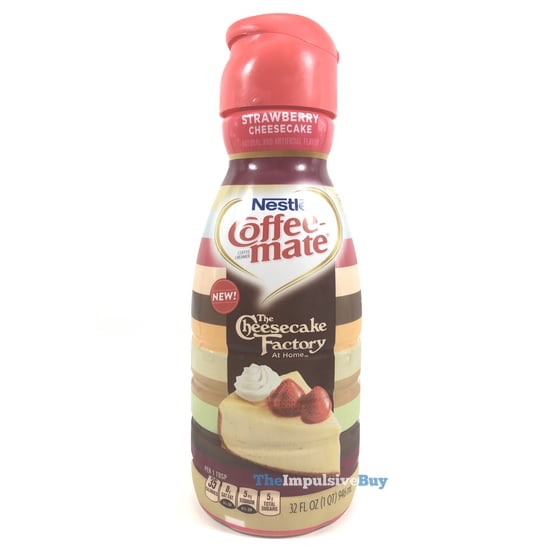 Nestle Coffee mate The Cheesecake Factory At Home Strawberry Cheesecake Creamer