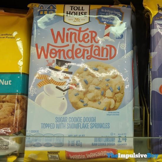 Nestle Toll House Winter Wonderland Cookie Dough