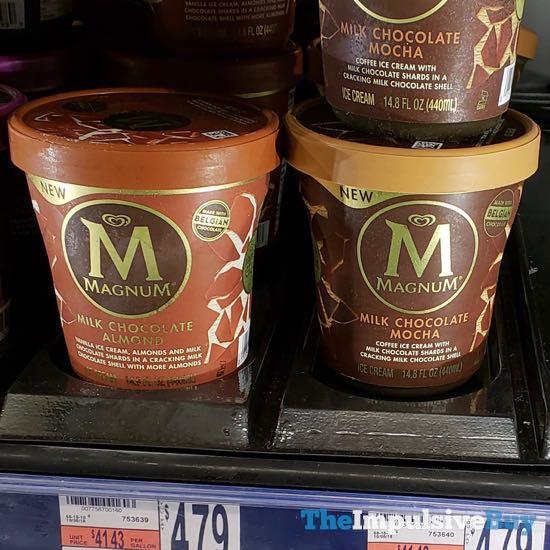 New Magnum Ice Cream Tubs  Fall 2018