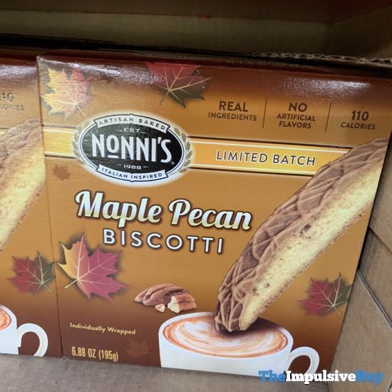 Nonni s Limited Batch Maple Pecan Biscotti