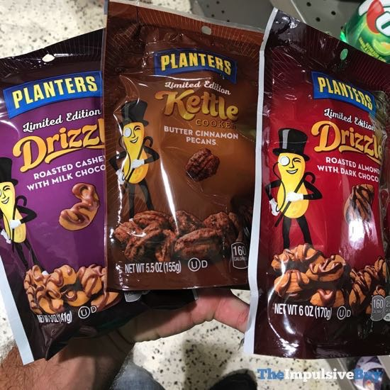 Planters Limited Edition Drizzle and Kettle Cooked Nuts