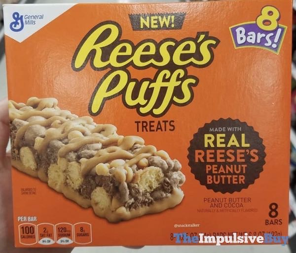 Reese s Puffs Treats  2018