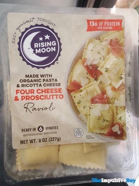 Rising Moon Four Cheese  Prosciutto Ravioli