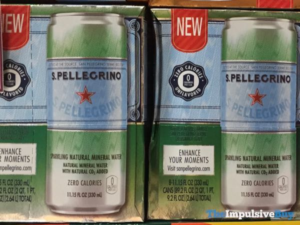 S Pellegrino Sparkling Natural Mineral Water 11 15 fl oz