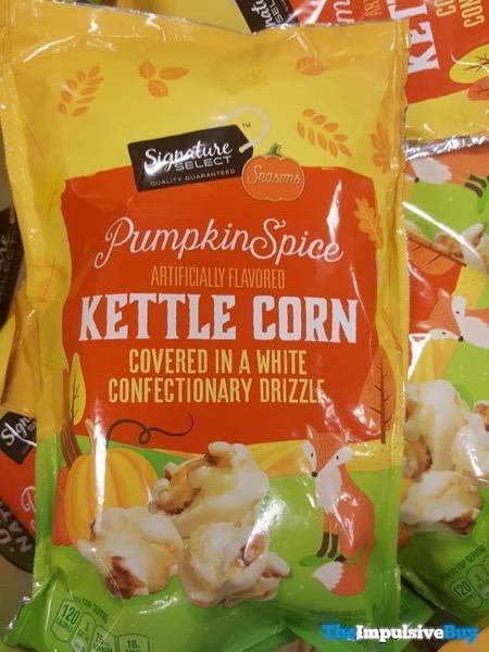Safeway Signature Select Seasons Pumpkin Spice Kettle Corn