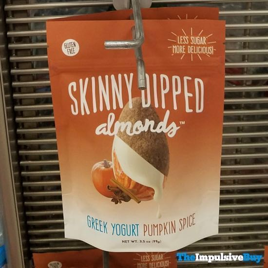 Skinny Dipped Almonds Greek Yogurt Pumpkin Spice