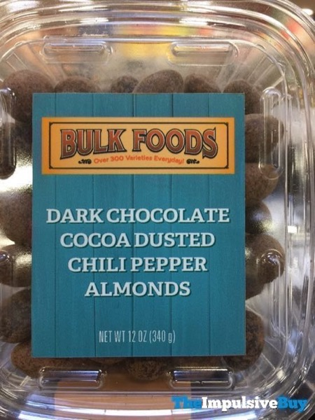 Sprouts Bulk Foods Dark Chocolate Cocoa Dusted Chili Pepper Almonds
