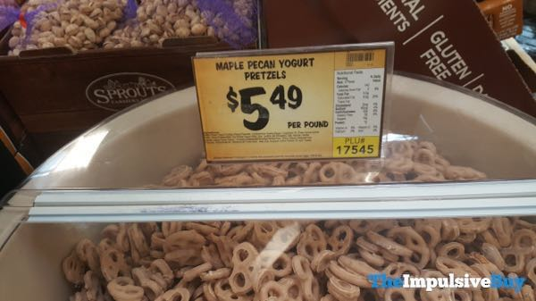 Sprouts Bulk Maple Pecan Yogurt Pretzels