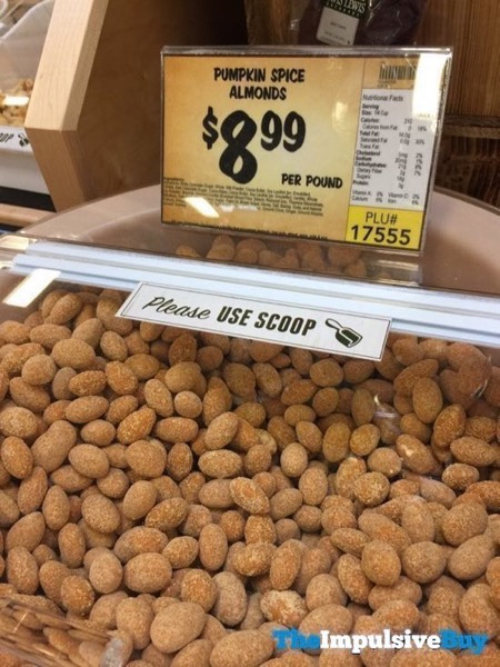 Sprouts Bulk Pumpkin Spice Almonds