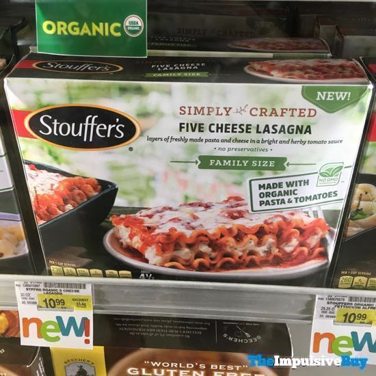 Stouffer s Simply Crafted Five Cheese Lasagna