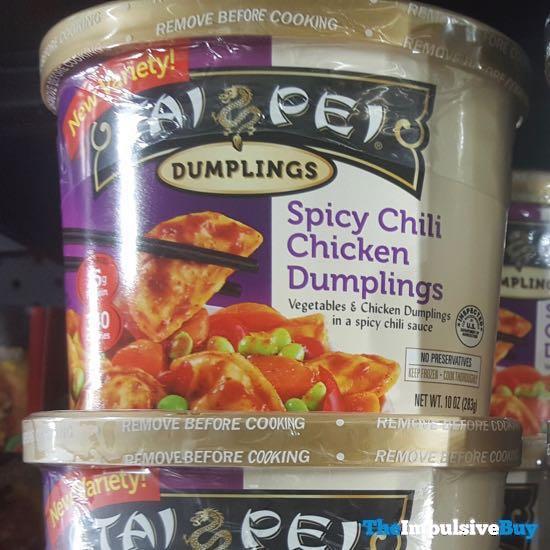 Tai Pei Dumplings Spicy Chili Chicken Dumplings