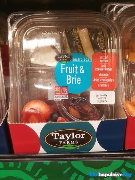 Taylor Farms Bistro Box Fruit  Brie