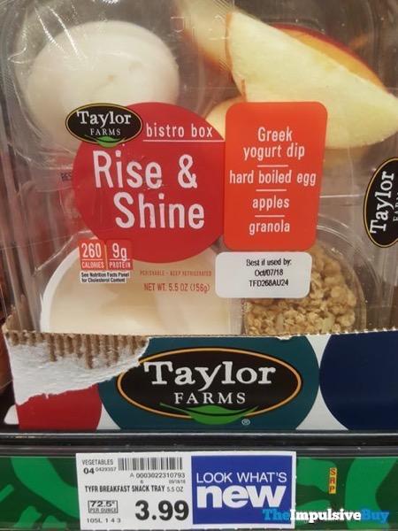 Taylor Farms Bistro Box Rise  Shine