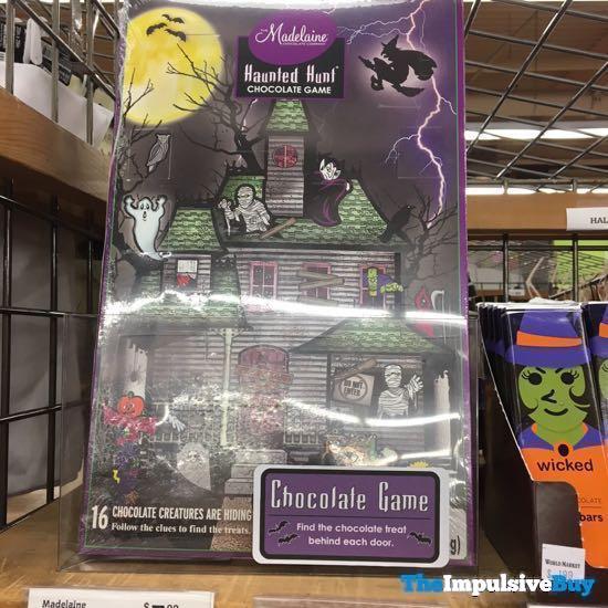 The Madelaine Chocolate Company Haunted Hunt Chocolate Game