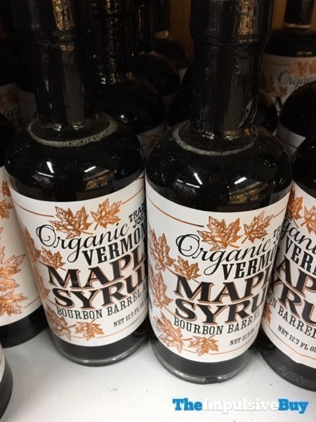 Trader Joe s Organic Vermont Maple Syrup Bourbon Barrel Aged