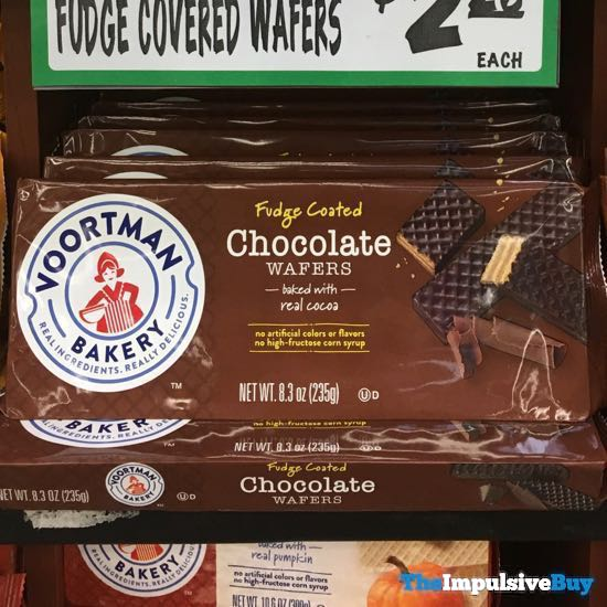Voortman Bakery Fudge Coated Chocolate Wafers