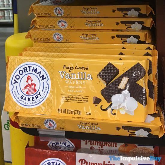 Voortman Bakery Fudge Coated Vanilla Wafers